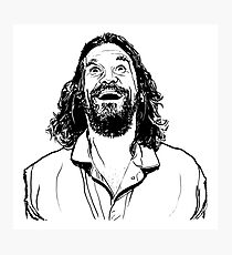 The Dude - Ecstatic  Photographic Print