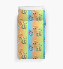 Mudkip, Torchic and Treecko Duvet Cover
