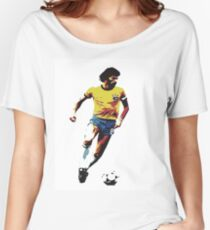 Socrates Brazil Legend Women's Relaxed Fit T-Shirt