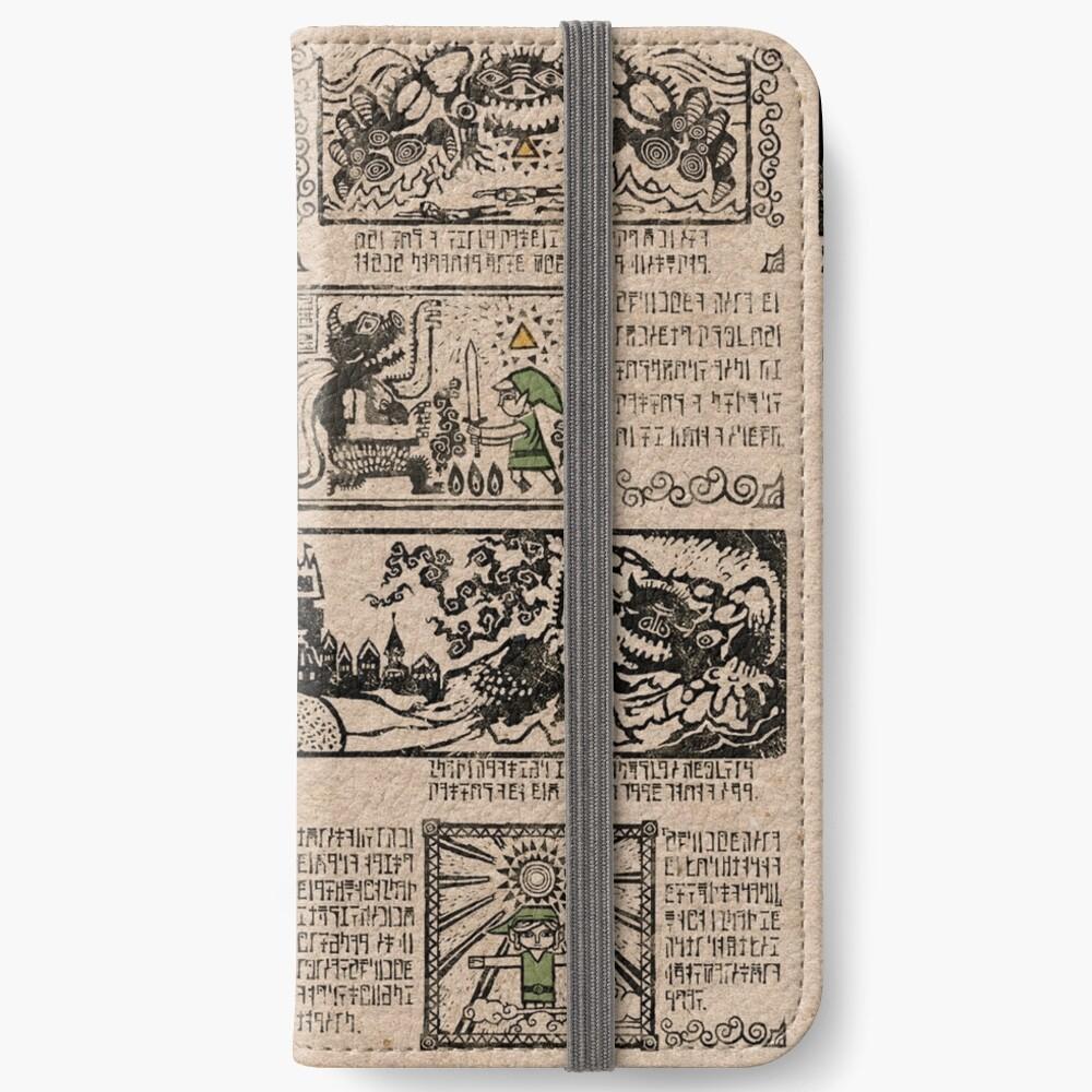 Tapices del héroe del tiempo Fundas tarjetero para iPhone