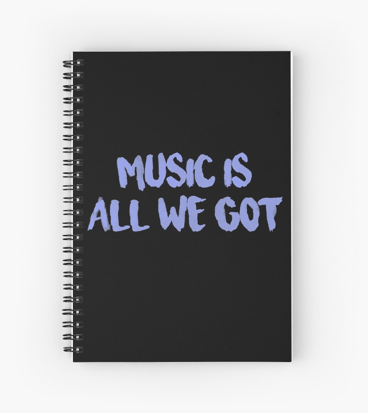All We Got Chance The Rapper Lyric Spiral Notebooks By Jamie