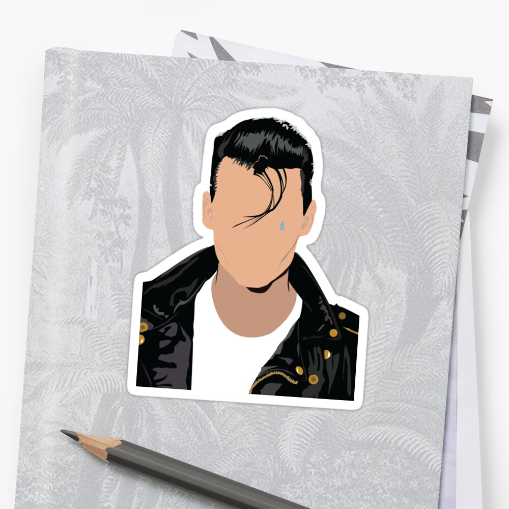 Quot Johnny Depp Cry Baby Quot Sticker By Elysianart Redbubble