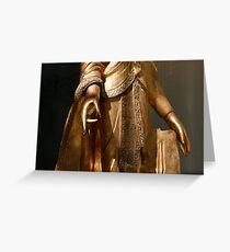 Mudra Greeting Card