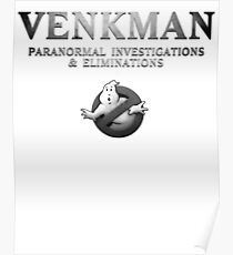 GHOSTBUSTERS VENKMAN Poster