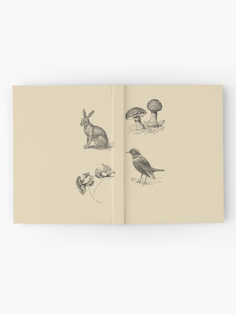 Alternate view of FOLKTALES FOR THE DISEASED INDIVIDUAL Official Merch Hardcover Journal