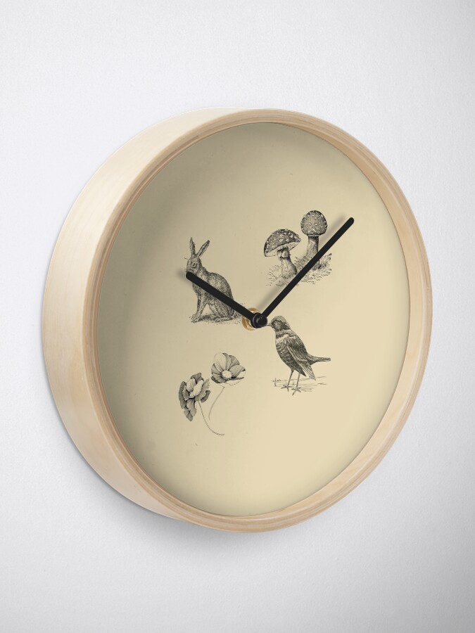 Alternate view of FOLKTALES FOR THE DISEASED INDIVIDUAL Official Merch Clock