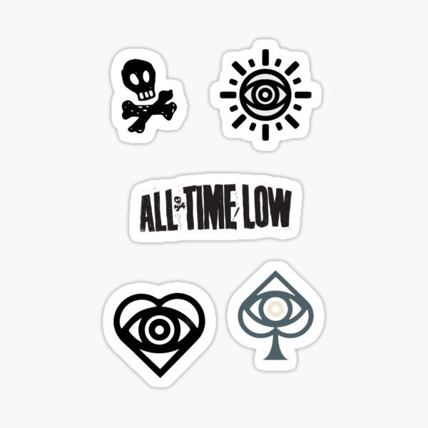 All Time Low Sticker Pack 2 Sticker