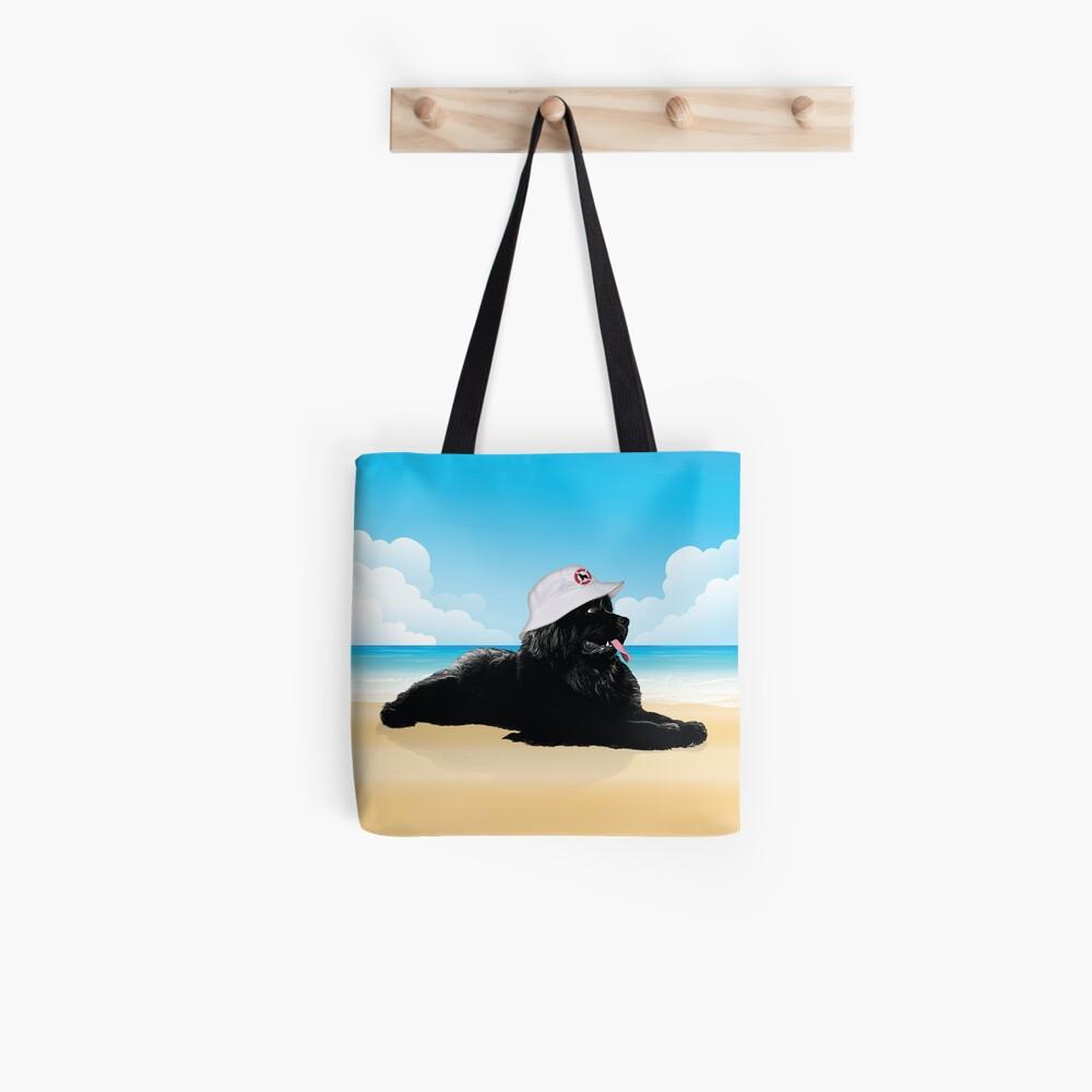 Lifeguard Newf Tote Bag