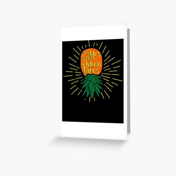 Lifestyle Swingers Adventures Greeting Card