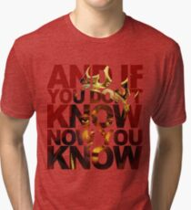 And If You Don't Know 2 Tri-blend T-Shirt