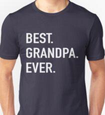 Best Grandpa Ever Unisex T-Shirt