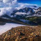 Good Morning Sahale Glacier by Shari Galiardi
