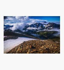 Good Morning Sahale Glacier Photographic Print