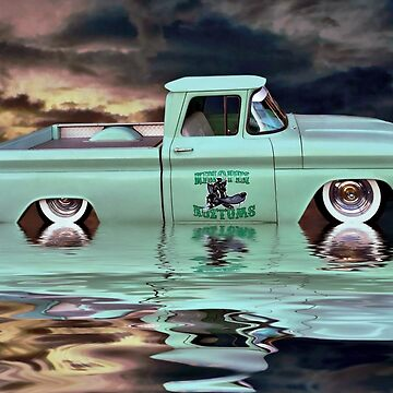 Pickup Reflections by Steven