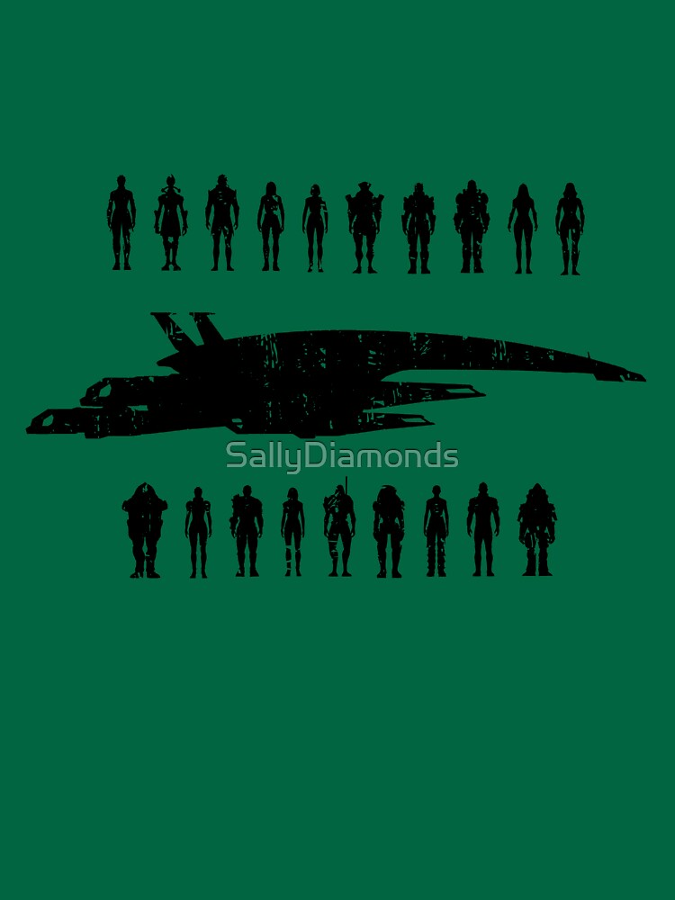TShirtGifter presents: Normandy and the squad 2 | Unisex T-Shirt