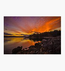 Endless Sunset Photographic Print