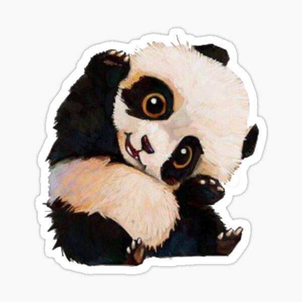Lindo panda Pegatina