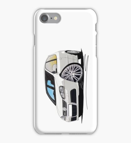 VW Golf (Mk5) R32 White iPhone Case/Skin