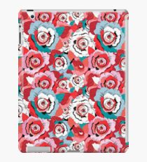 Lovely rose pattern graphics iPad Case/Skin