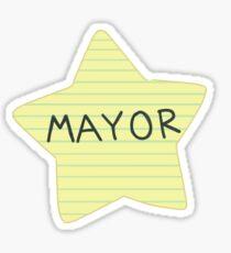 Mayor Butterfly  Sticker
