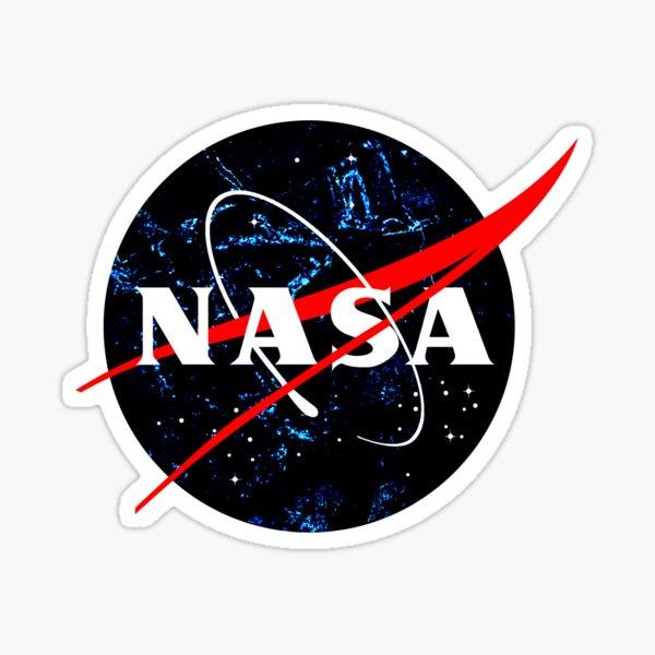 NASA insignia - Dark matter style Sticker