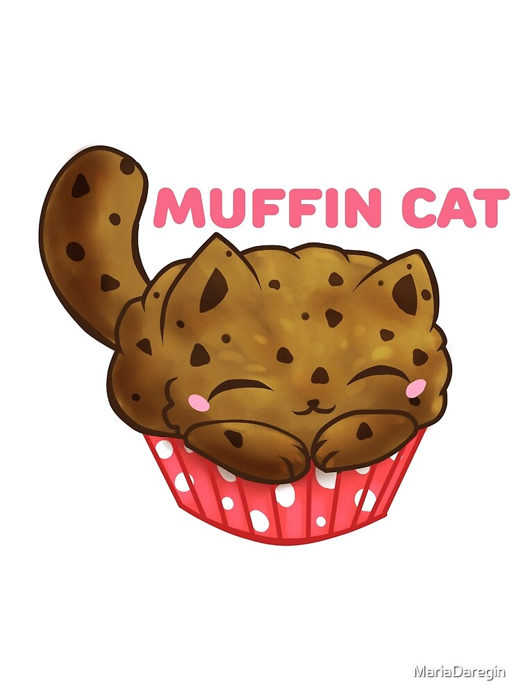 "Cats Food - Muffin cat"" Greeting Card by MariaDaregin 