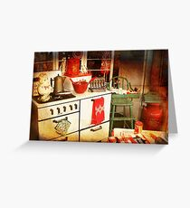 Once Upon a Time There Was a Kitchen....  Greeting Card