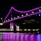 story bridge, brisbane, queensland, australia by gary roberts