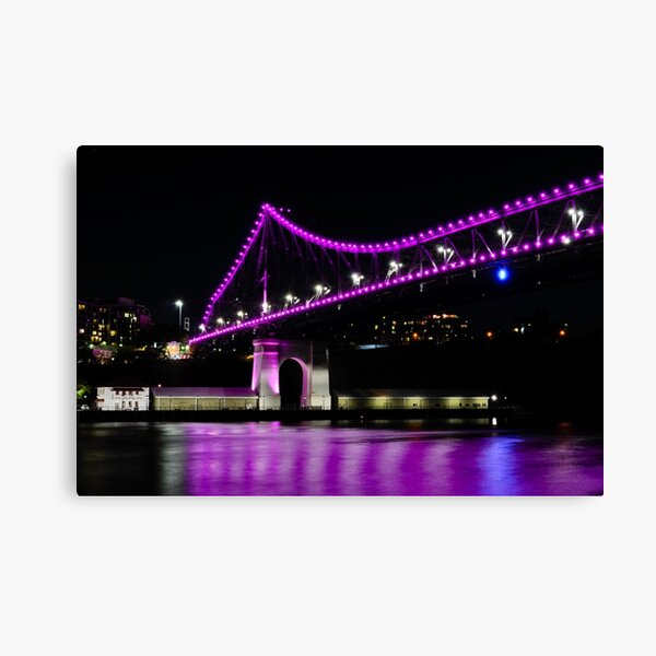 story bridge, brisbane, queensland, australia Canvas Print