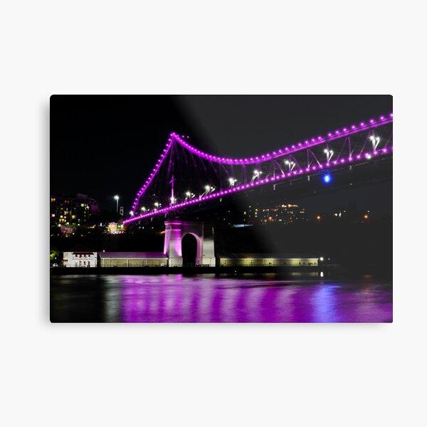 story bridge, brisbane, queensland, australia Metal Print