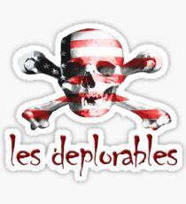 les deplorables Sticker