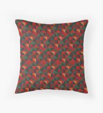 District Underground Moquette Pattern Throw Pillow