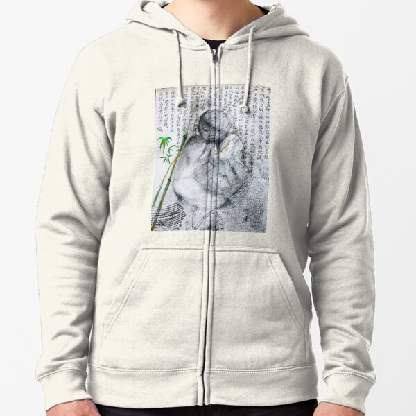 Blessing Zipped Hoodie