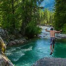 Bridge Creek Jump by Shari Galiardi
