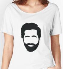 Jake Gyllenhaal beard Women's Relaxed Fit T-Shirt