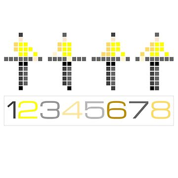 PIXEL8 | Kraftwerk | 12345678 by 8eye