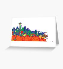 Paint the Town Greeting Card