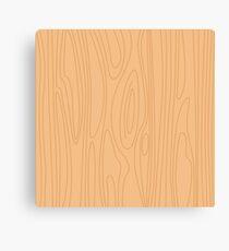 Natural beige wood background. Pine wood texture. Canvas Print