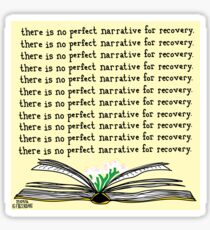 No Perfect Narrative Sticker