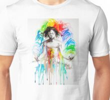 Rainbow Meditation Unisex T-Shirt