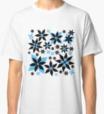 A Field of Midnight Flowers Classic T-Shirt