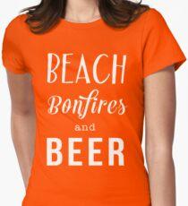 Beach. Bonfiles and Beer T-Shirt