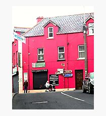 Cafe Donagh, Carndonagh, Donegal, Ireland Photographic Print