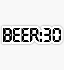Beer:30 Sticker