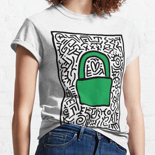 Vorhängeschloss - Gesperrt Classic T-Shirt