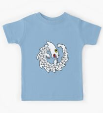 Cute Falkor The Luck Dragon Design Kids Tee