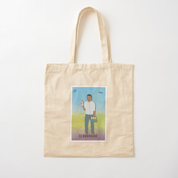El Borracho Cotton Tote Bag