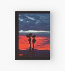 New Year Sunset Hardcover Journal