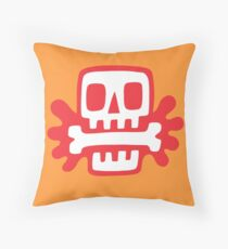 A good meal Throw Pillow