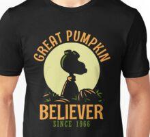 Great Pumpkin Believer, Funny Halloween Custom For Men And Women Unisex T-Shirt